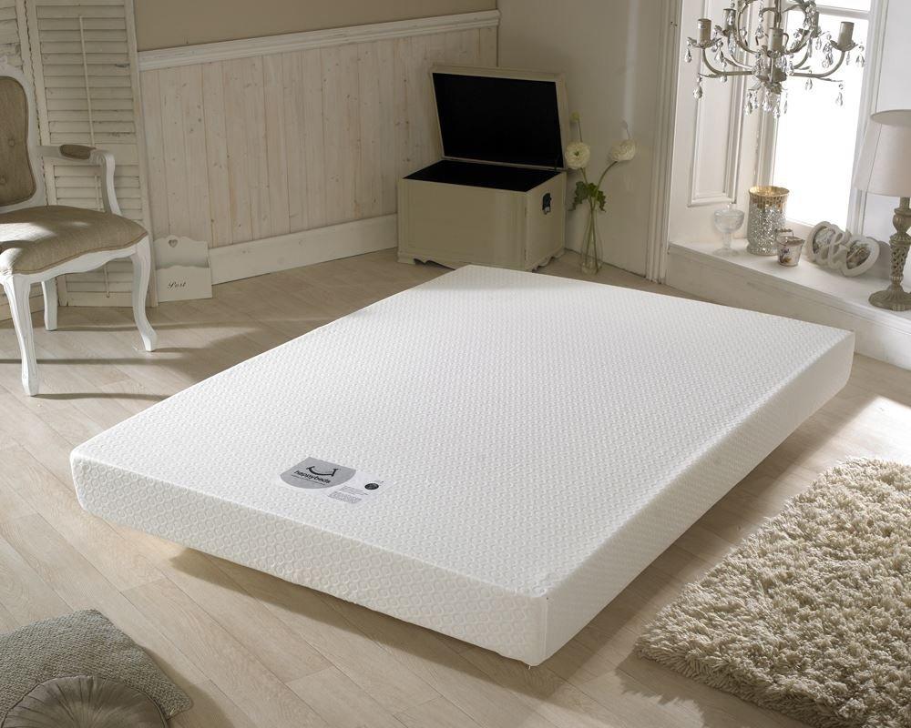 happy beds memory 250 orthopaedic memory foam firm mattress single amazoncouk kitchen u0026 home