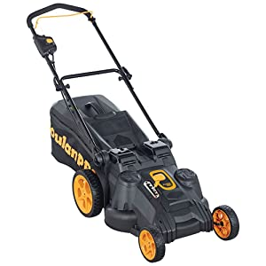 Poulan Pro 967044401 40V Electric Start Dual Blade Mower, 20