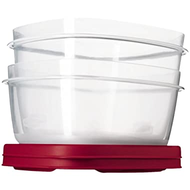 Rubbermaid 1777179 Easy Find Lid Value Pack of 2 Containers, 14-Cup