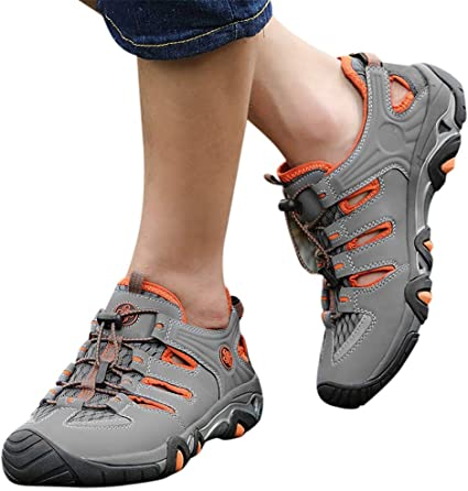 Men/'s Cleats Hiking Trail Comfort Athletic Sneakers Running Walking Casual Shoes