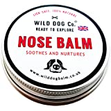 Dog Nose and Snout Balm, made in the UK 100% Natural nose butter for crusty dry dog noses. Dog lover gift