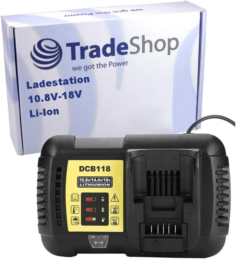 DCD710 Cargador para Dewalt DCD700 DCF815N DCF610S2 DCF610 DCD710S2 DCF813 Trade-Shop 10,8 V, 18 V, iones de litio DCF815 DCF805 DCF813S2