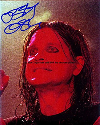 - Ozzy Osbourne Autographed Preprint Signed 11x14 Poster Photo 1