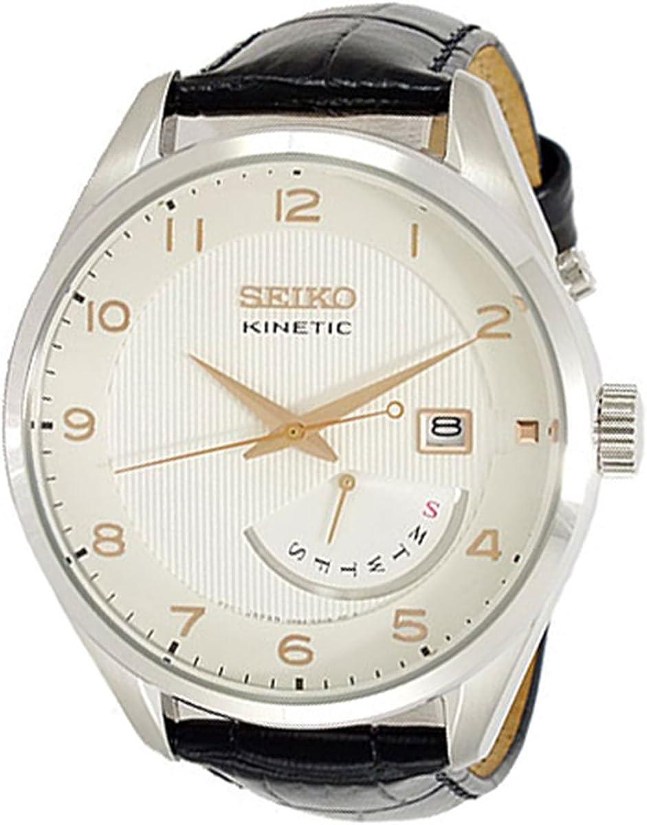 Seiko SRN049P1-WT Reloj de pulsera para hombre: Amazon.es: Relojes