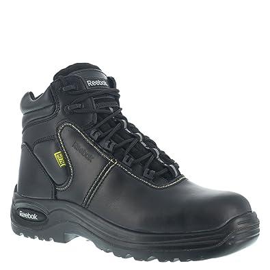 Amazon.com: RB6755 Reebok Men's Internal Met Safety Boots - Black ...