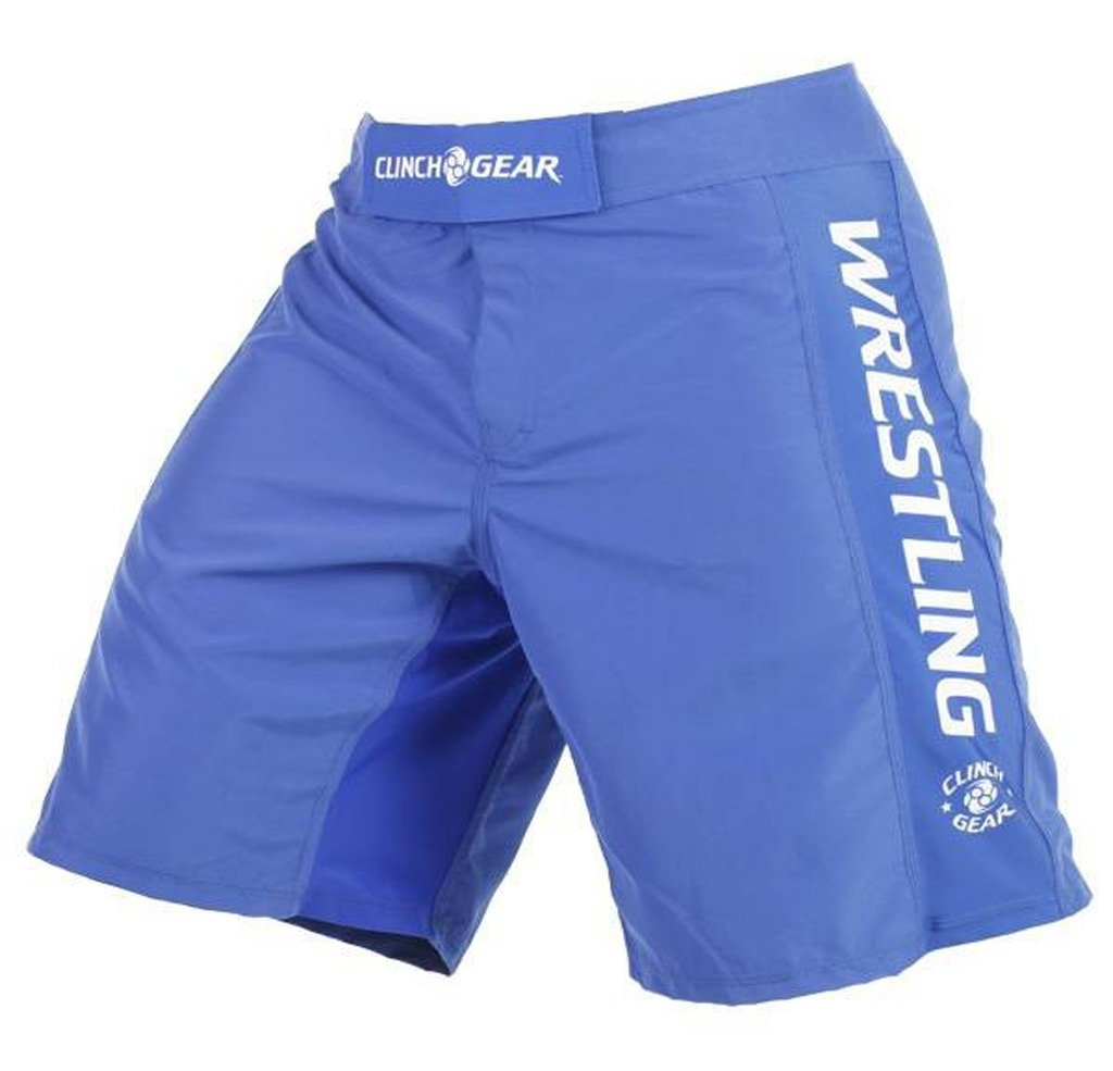 Clinch Gear   Performance Wrestling Shorts Royal 36 by Clinch Gear