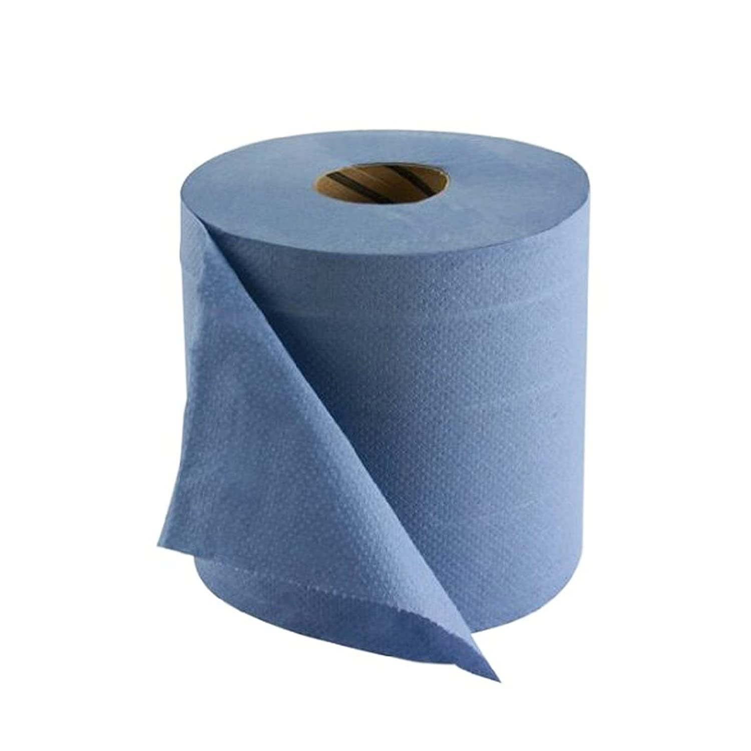 AllTrade Direct 2 x Industrial Blue Roll 2 Ply 120m Centre Feed ...