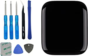 Vvsialeek Replacement Screen Compatible with Apple Watch Series 4st 44mm A1976 A1978 A2008 (4nd Generation) GPS+Cellular Touch Screen Display LCD with Toolkit (4rd 44m,S4 44mm)