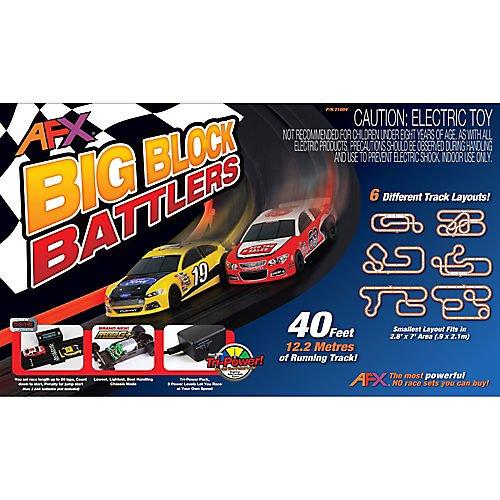 AFX 21004 HO Slot Car Race Set MegaG+ Tri Power Mega New Big Block Bat