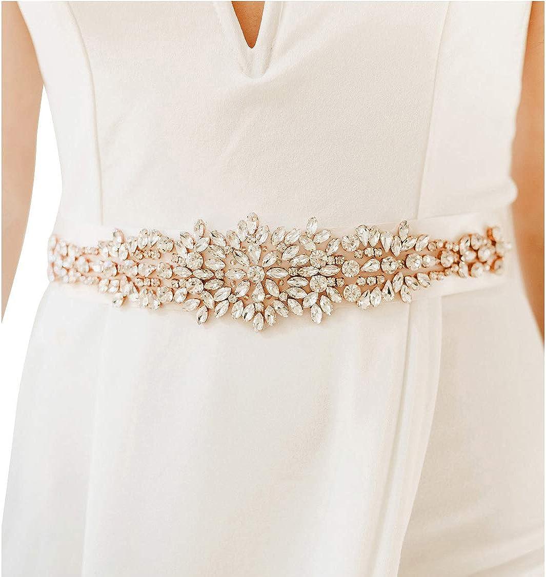 rose gold bridal sash beaded sash Rose gold wedding belt,rose gold bridal belt