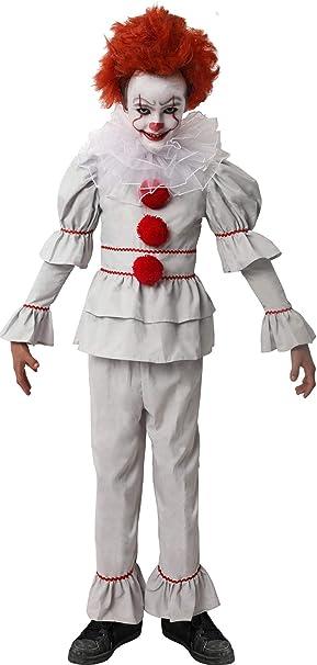 D Y S M A D Gojoy Shop- Disfraz de Payaso Asesino para Niño para ...