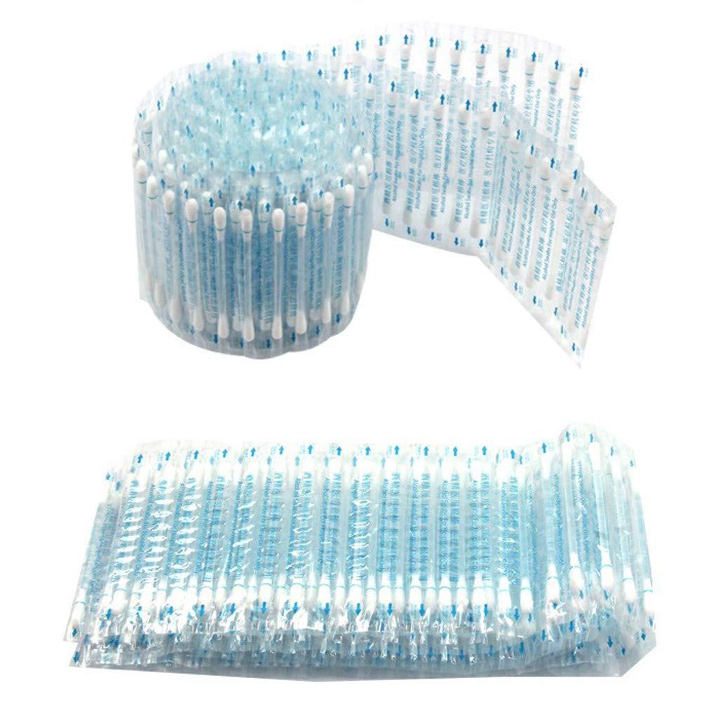 Notfallpflege desinfizierte Baumwolle medizinischer Alkohol-Stick Lisanl Alkohol-St/äbchen aus Baumwolle Einweg