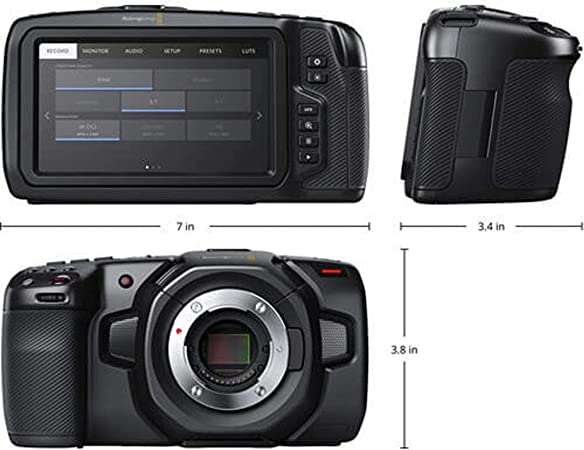 Blackmagic Design CINECAMPOCHDMFT4K product image 2