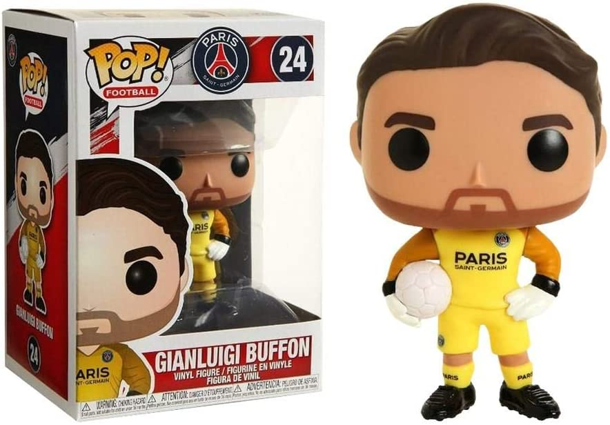 Funko Pop Gianluigi Buffon 24 Psg Figure 9 Cm Calcio Paris Saint Germain Juve 1 Amazon It Giochi E Giocattoli