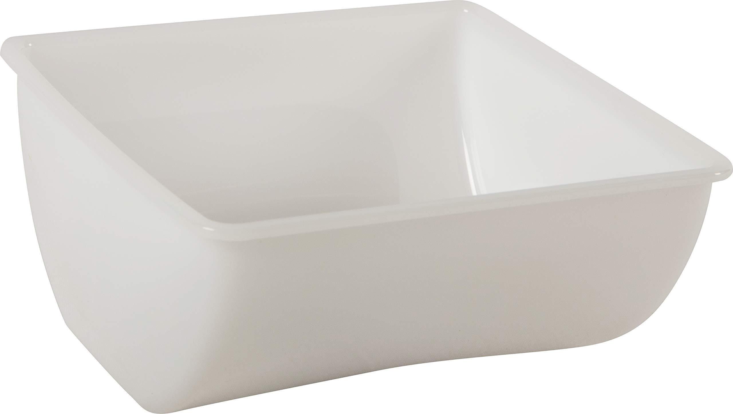 San Jamar B432 1qt Condiment Tray Insert, 5-7/8'' Height x 2-3/4'' Width x 5-1/2'' Depth (Pack of 12)