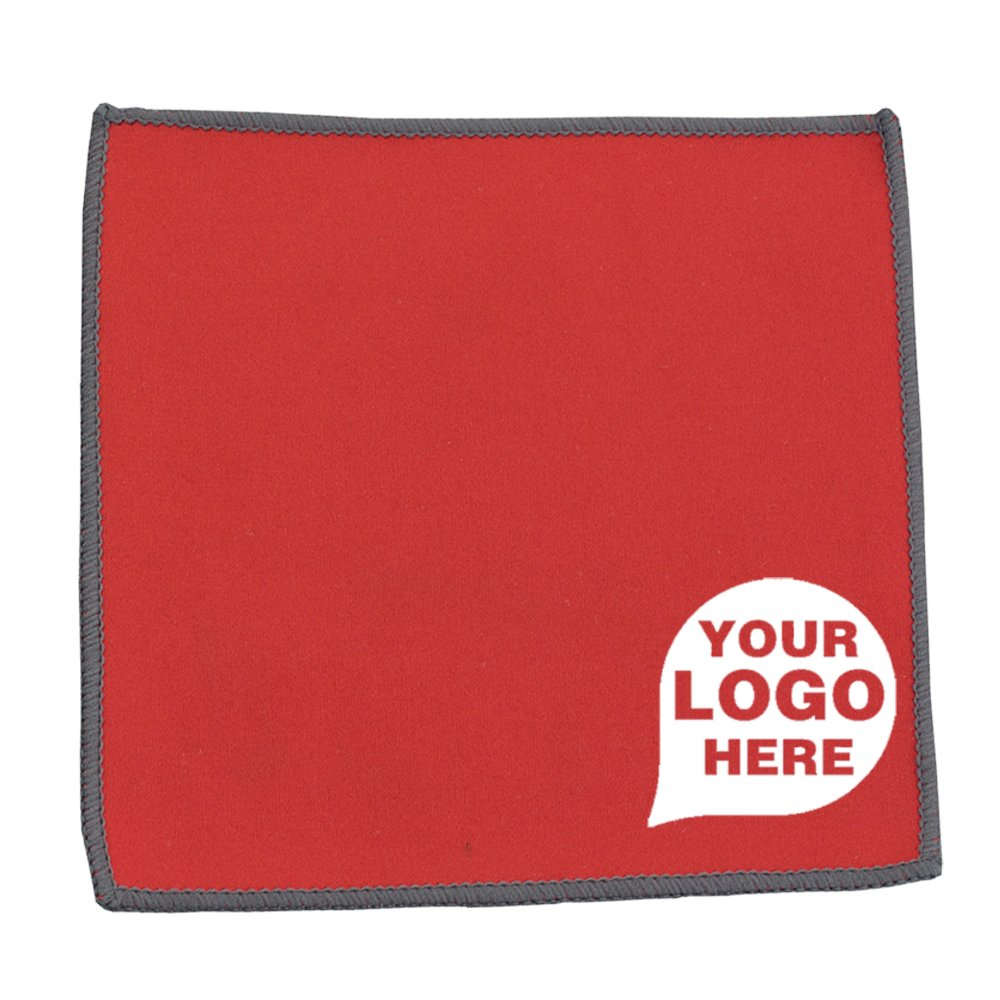 Microfiber Cleaning Cloth and Towel - 500 Quantity - $0.80 Each - PROMOTIONAL PRODUCT / BULK / BRANDED with YOUR LOGO / CUSTOMIZED