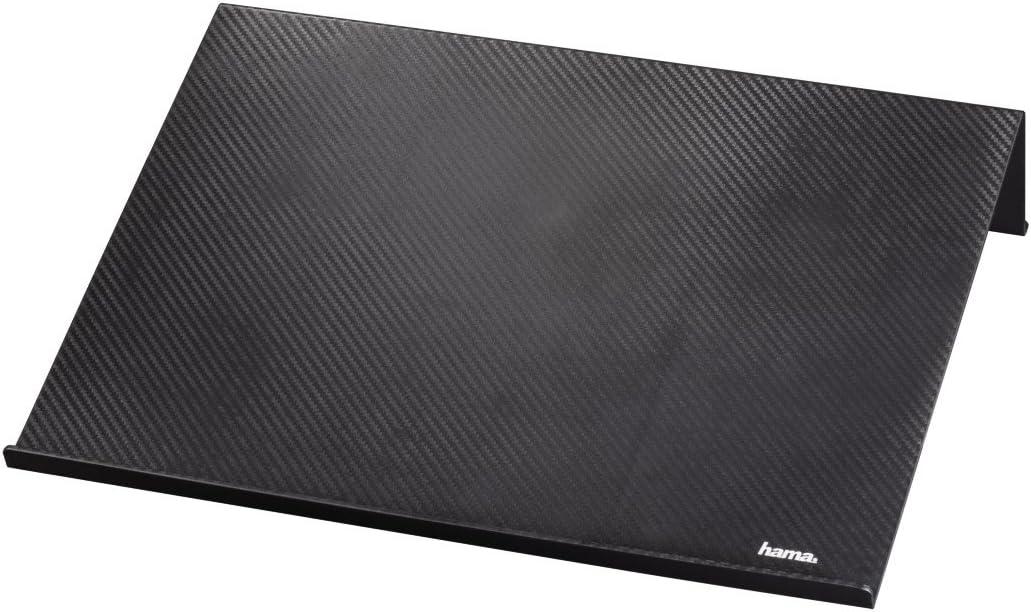13,3 /à 15,6 pouces, port USB, refroidissement rapide, design mince et mince, ventilateur pour ordinateur portable Noir//Rouge Hama Ventilateur d/'ordinateur portable /« Slim /»