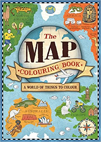 The Map Colouring Book (Map Colouring Books 1): Amazon.co.uk ...