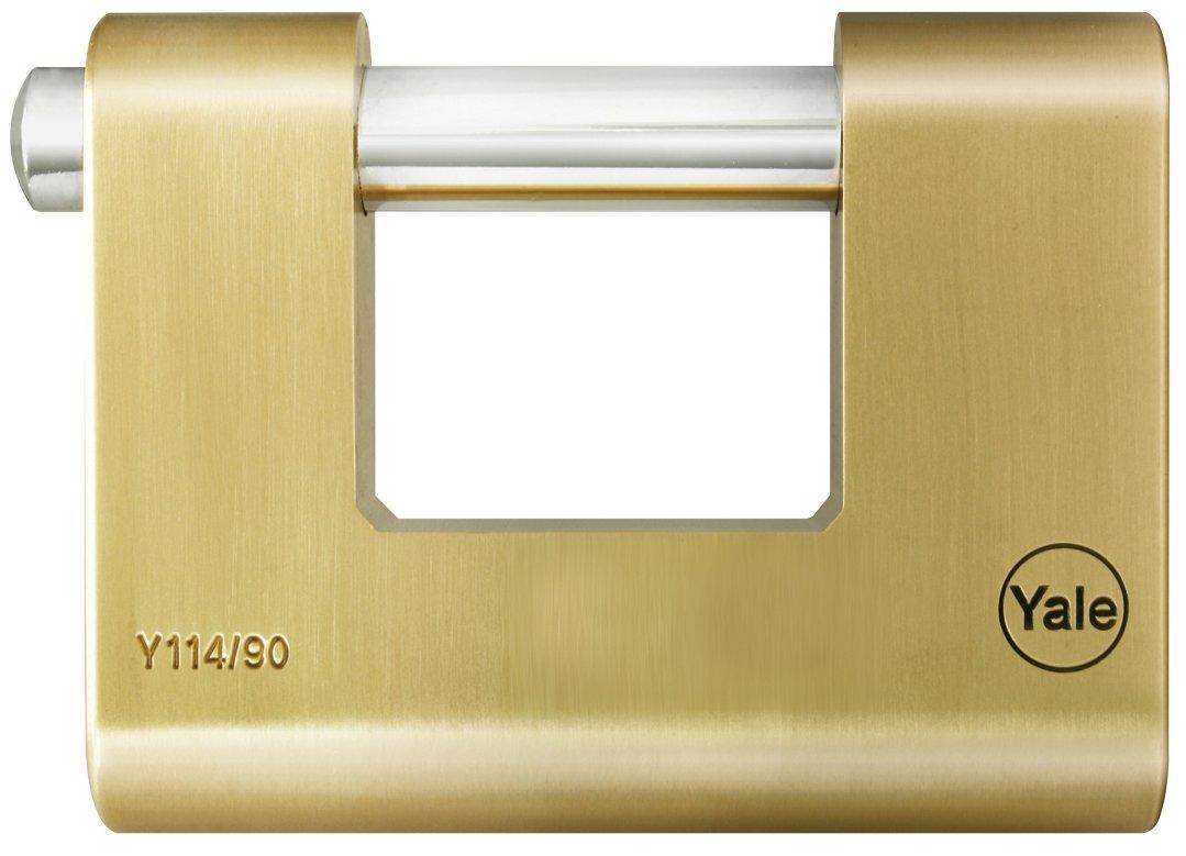 Yale Y114/80/118/1 Candado de Alta Seguridad Y114 80 mm Acero Cementado