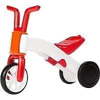 Chillafish Bunzi Tricycle, Draisienne et Vélo Sans Pédale 2 en 1,  Rouge