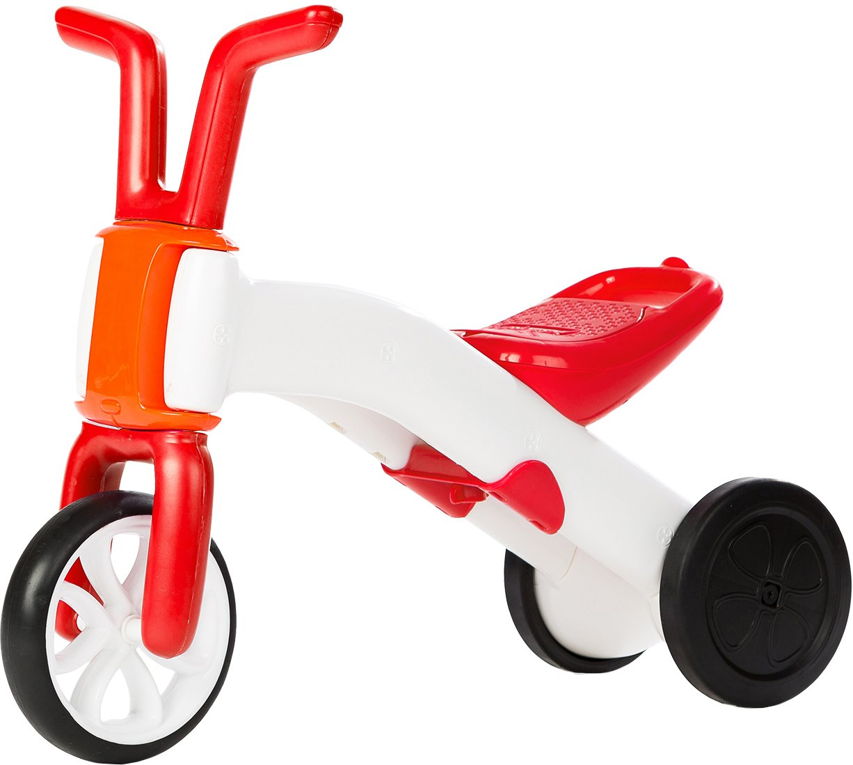 Chillafish BUNZI: 2-in-1 Gradual Balance Bike and Tricycle, Red The Chillafish Company NV CPBN01RED