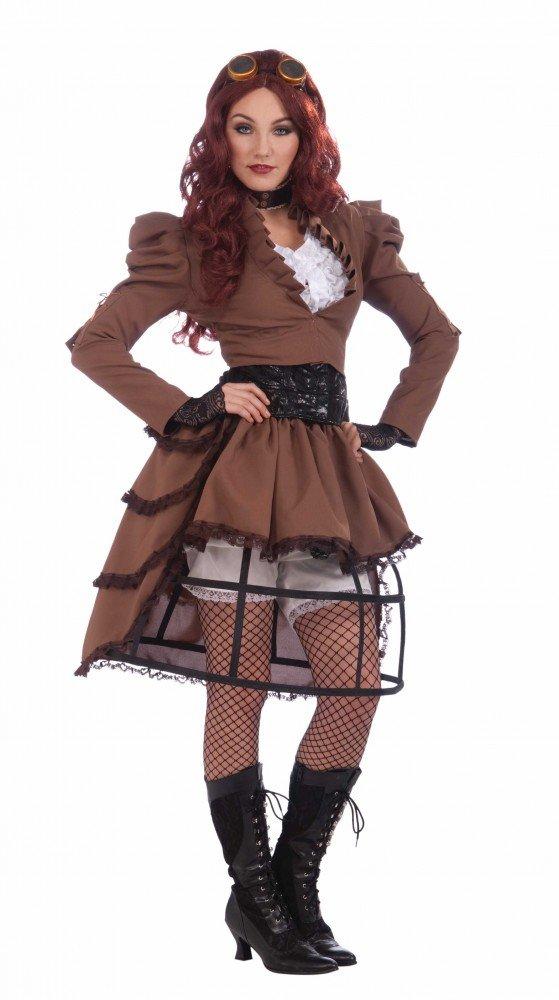 ventas en linea Shoperama Shoperama Shoperama Steam Punk Vicky Disfraz de Mujer (Tallas 34 – 38 Burning Man Estilo Victoriano, Industrial  100% a estrenar con calidad original.