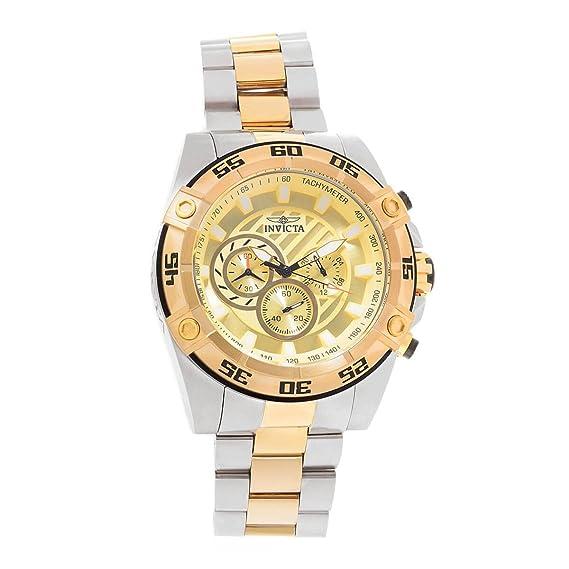 Invicta Speedway Reloj de Hombre Cuarzo Correa y Caja de Acero 25537: Amazon.es: Relojes
