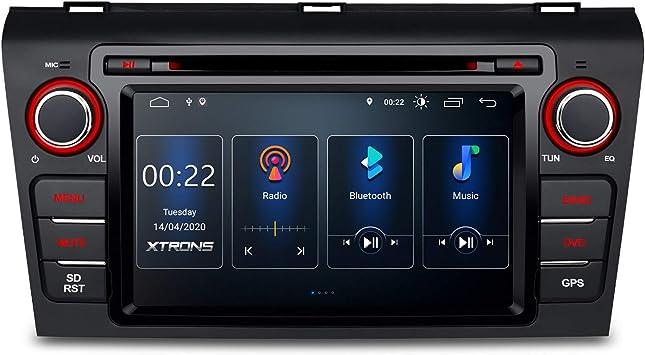 XTRONS - Reproductor de Radio y DVD para Coche Android 8.1 con Pantalla multitáctil de 7 Pulgadas, Compatible con WiFi, GPS, Salida RCA Completa OBD Dab+ 2K: Amazon.es: Electrónica