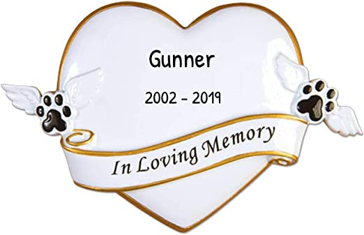 Christmas Angels Love Ornament 2020 Amazon.com: Personalized R.I.P. Memorial Christmas Tree Ornament