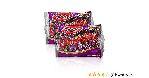 Amazon.com : Gallito Guayabita Chocolates, 2 Bags of 8.5 Ounces : Grocery & Gourmet Food