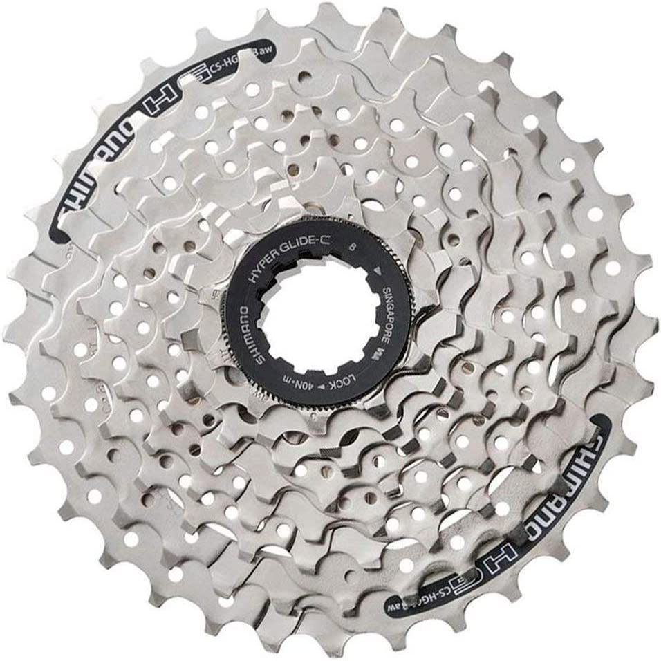Shimano CN-HG40 6//7//8-Speed 116-Links Chain for 18//21//24-Speed MTB Road Bike
