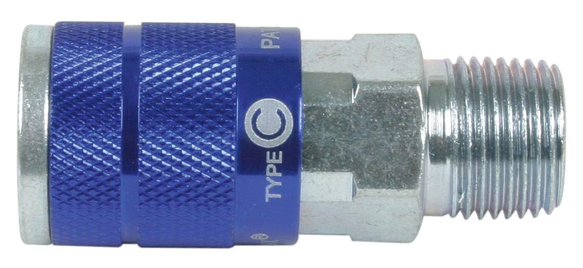 M Coupler Body, 1//4 Steel//Aluminum NPT