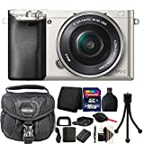Sony Alpha A6000 Mirrorless Digital Camera with 16GB Top Accessory Bundle Review