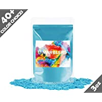 Marblers Powder Colorant 3oz (85g) [Turquoise] | Pearlescent Pigment | Tint | Pure Mica Powder for Resin | Dye | Non-Toxic | Great for Paint, Concrete, Epoxy, Soap, Nail Polish, Cosmetics