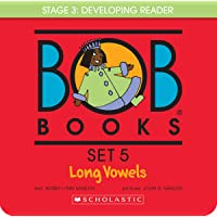 Bob Books - Long Vowels Box Set | Phonics, Ages 4 and up, Kindergarten, First Grade (Stage 3: Developing Reader)