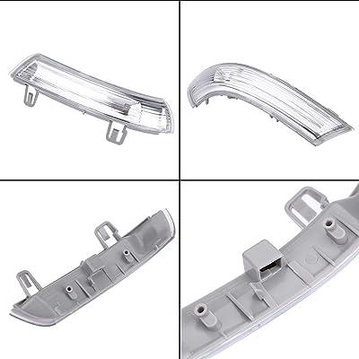 Qiilu Right Side Wing Mirror Indicator Turn Signal Bulb for VW MK5 Golf PASSAT JETTA 1K0949102: Automotive