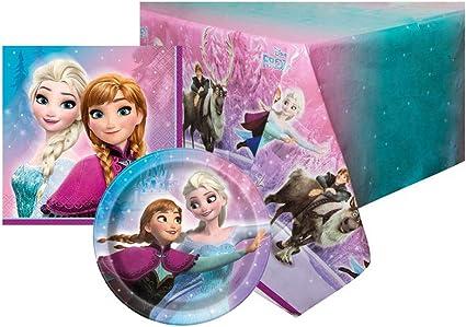 Amazon.com: Disney FROZEN - Servilletas para niños, diseño ...