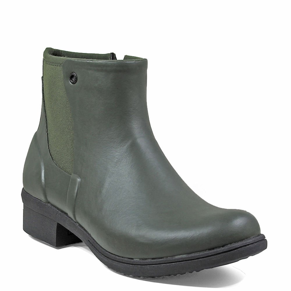 Bogs Women's Auburn Chukka Boot B01N0JDFLT 10 B(M) US Dark Green