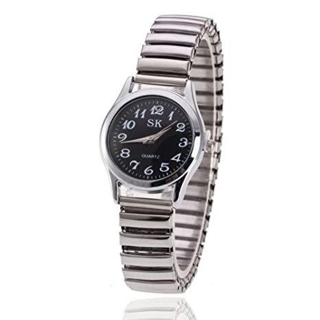 Quartz Watch Mesa Decorativa Pareja Tabla Pequeño Reloj Digital Fresco De La Cara,1