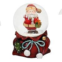 Saco de Navidad con bola de nieve, tamaño