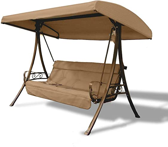 Replacement Canopy for Three-Person Charm Swing – RipLock