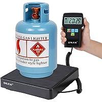 Escalera refrigerante electrónica con retroiluminación, carga escalera, refrigeración