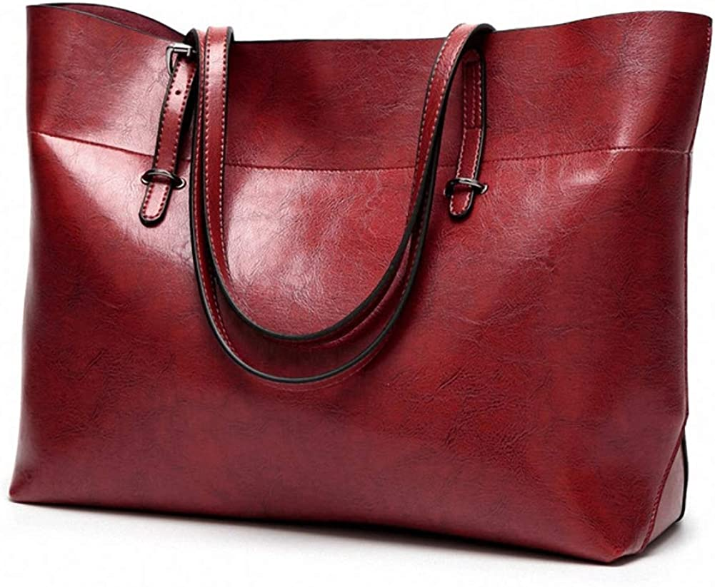 Bags Leather Tote Purse Big...