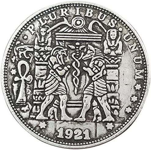 AmaMary Dolar Morgan ,1 Piezas Monedas de Calavera E Pluribus Unum Estados Unidos de América Histórico Moneda Conmemorativa de un dólar de 1921 Moneda de EE. UU.: Amazon.es: Juguetes y juegos