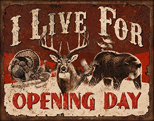 Ode-Rin Art Christmas Gift Prints Modern Giclee Artwork Picture for Zoo Decor on Canvas Caribou I Live For Opening Day Painting with Wooden Frame and Strong Hook Inside for Wall Decoration