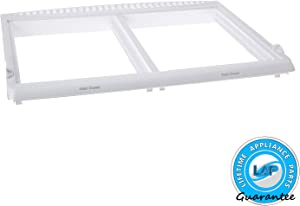Lifetime Appliance 240364787 Crisper Pan Cover Compatible with Frigidaire Refrigerator