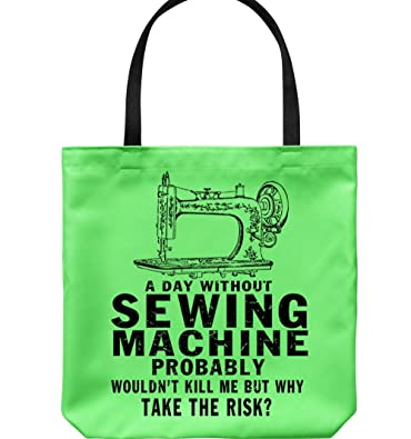 Amazon.com: Bolsas de lienzo para máquina de coser My Sewing ...