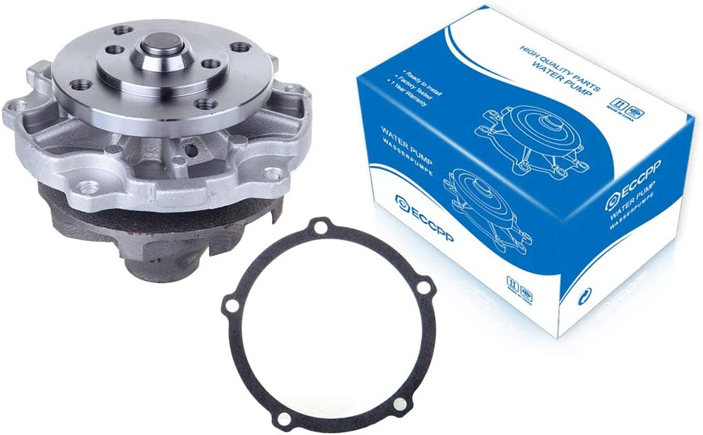 ECCPP Water Pump with Gasket fits for 1987 2005 AW5033 AW6145