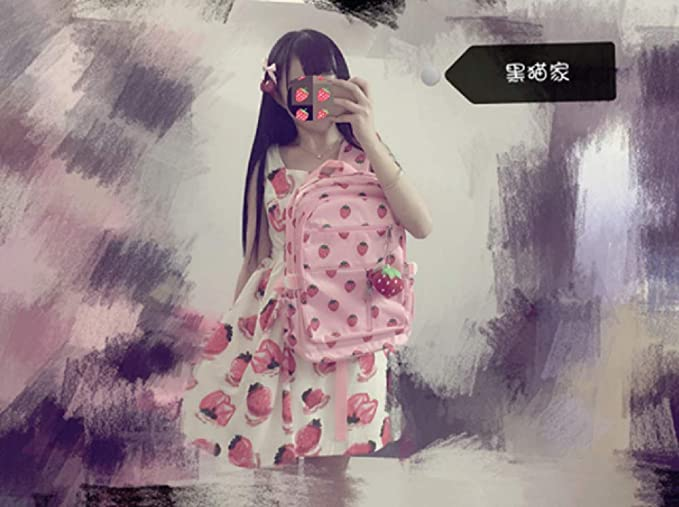 Amazon.com: GK-O Kawaii - Mochila escolar de lona con diseño ...