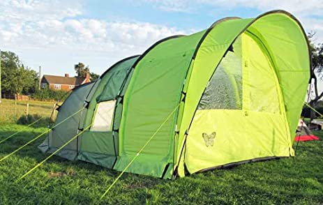 Olpro Cocoon 4 Berth Family Tunnel Tent - Green & Amazon.com : Olpro Cocoon 4 Berth Family Tunnel Tent - Green ...